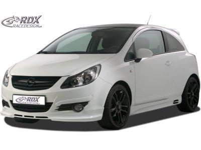 Накладка на передний бампер от RDX Racedesign на Opel Corsa D