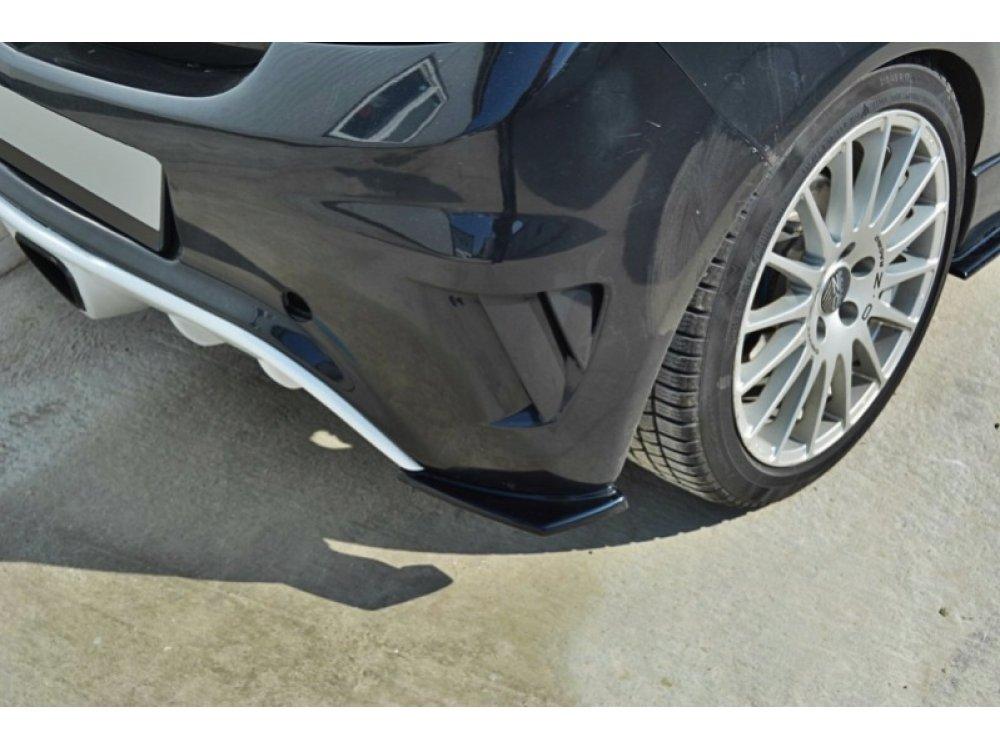Боковые накладки на задний бампер от Maxton Design на Opel Corsa D OPC / VXR