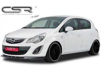Накладка на передний Elegance от CSR Automotive на Opel Corsa D