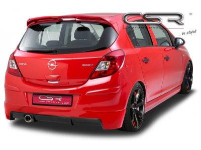Накладка на задний бампер от CSR Automotive на Opel Corsa D Hatchback