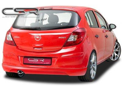 Накладка на задний бампер от CSR Automotive на Opel Corsa D