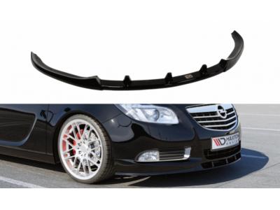 Накладка на передний бампер от Maxton Design на Opel Insignia OPC-Line