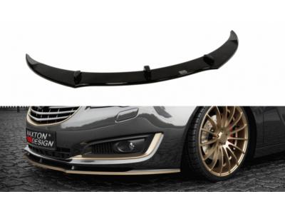 Накладка на передний бампер от Maxton Design на Opel Insignia рестайл