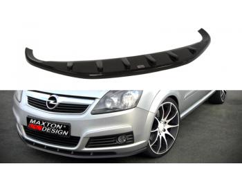 Накладка на передний бампер от Maxton Design на Opel Zafira B