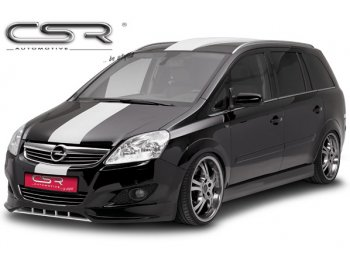 Накладка на передний бампер от CSR Automotive на Opel Zafira B рестайл