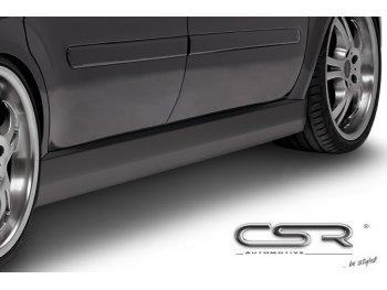 Накладки на пороги от CSR Automotive на Opel Zafira B