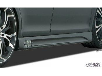 Накладки на пороги GT-Race от RDX Racedesign на Opel Zafira B