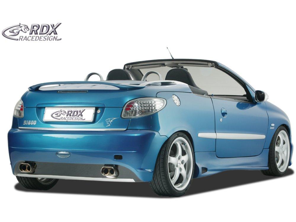 Бампер задний GTI-Five от RDX Racedesign на на Peugeot 206 Cabrio