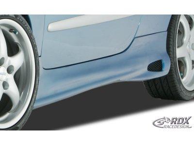 Накладки на пороги ReverseType от RDX Racedesign на Peugeot 206 2 / 3D