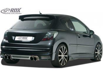 Накладка на задний бампер от RDX Racedesign на Peugeot 207