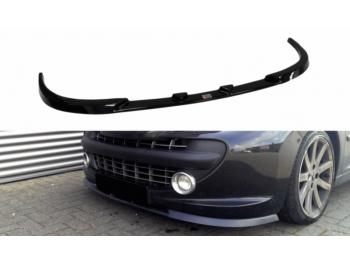Накладка на передний бампер от Maxton Design на Peugeot 207