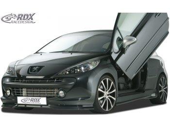 Накладка на передний бампер от RDX Racedesign на Peugeot 207