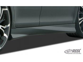 Накладки на пороги от RDX Racedesign на Peugeot 207