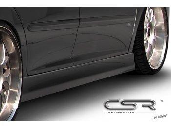 Накладки на пороги от CSR Automotive на Peugeot 207