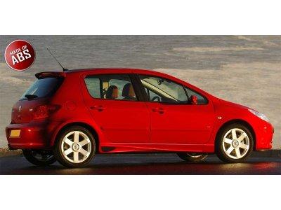 Накладки на пороги AF от Maxton Design на Peugeot 307