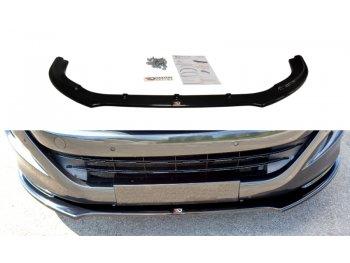 Накладка на передний бампер Var2 от Maxton Design на Peugeot RCZ