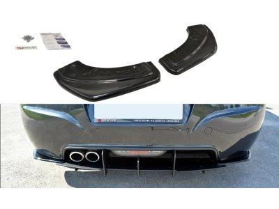 Накладки сплиттеры боковые на задний бампер от Maxton Design на Peugeot RCZ