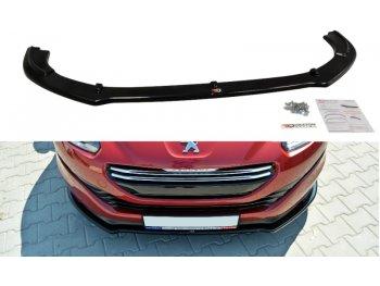 Накладка на передний бампер от Maxton Design на Peugeot RCZ рестайл