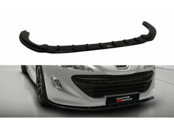 Накладка на передний бампер от Maxton Design на Peugeot RCZ