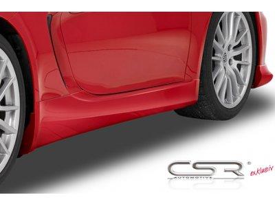 Накладки на пороги от CSR Automotive на Porsche Boxster / 981 / Cayman 981
