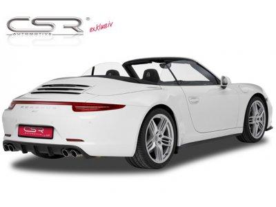 Накладка на задний бампер от CSR Automotive на Porsche 911 / 991 Coupe / Cabrio