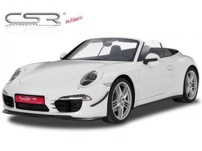 Накладка на передний бампер от CSR Automotive на Porsche 911 / 991 Coupe / Cabrio