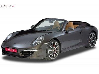 Накладка на передний бампер Var2 от CSR Automotive на Porsche 911 / 991