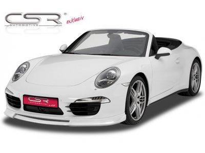 Накладка на передний бампер от CSR Automotive на Porsche 911 / 991