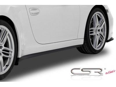 Накладки на пороги от CSR Automotive на Porsche 911 / 991 Carrera / Carrera S
