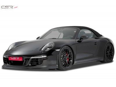Накладка на передний бампер от CSR Automotive на Porsche 911 / 991 GTS / Aerokit
