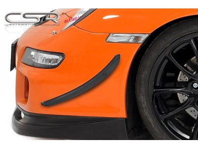 Рассекатели воздуха на передний бампер от CSR Automotive на Porsche 911 / 991