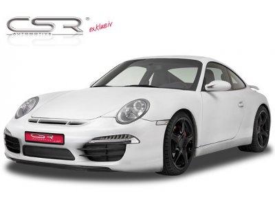 Бампер передний от CSR Automotive Var2 на Porsche 911 / 997