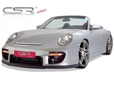 Накладка на передний бампер от CSR Automotive на Porsche 911 / 997 Coupe / Cabrio рестайл