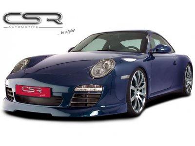 Накладка на передний бампер от CSR Automotive на Porsche 911 / 997 рестайл