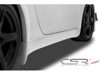 Накладки на пороги от CSR Automotive Var2 на Porsche 911 / 997