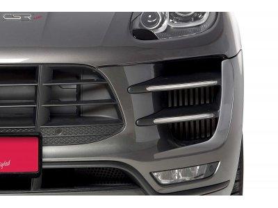 Накладки на воздухозаборники от CSR Automotive на Porsche Macan Turbo