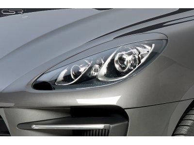 Реснички на фары от CSR Automotive на Porsche Macan