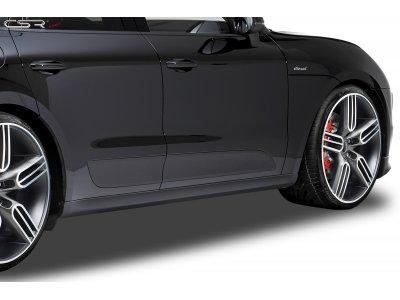 Накладки на пороги от CSR Automotive на Porsche Macan