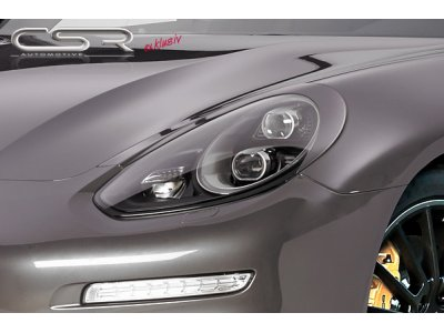 Реснички на фары от CSR Automotive на Porsche Panamera