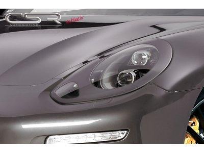 Реснички на фары Var2 от CSR Automotive на Porsche Panamera