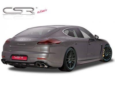Накладка на задний бампер от CSR Automotive на Porsche Panamera