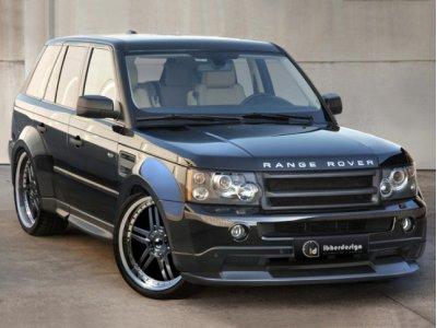 Комплект обвеса Vermont Wide V3 от Ibherdesign на Range Rover Sport I