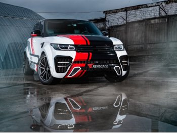 Комплект обвеса от Renegade V1 для Range Rover Sport с расширением