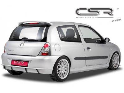 Накладка на задний бампер от CSR Automotive на Renault Clio III