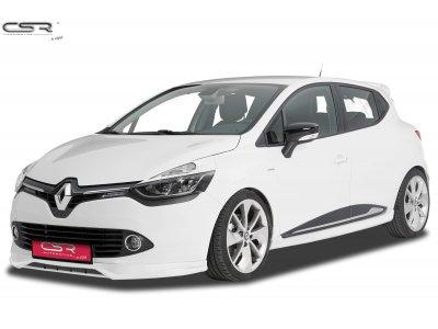 Накладка на передний бампер от CSR Automotive на Renault Clio IV