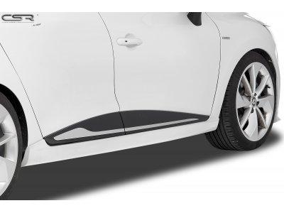 Накладки на пороги от CSR Automotive на Renault Clio IV