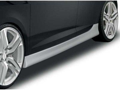 Накладки на пороги от Mattig на Seat Ibiza 6J Hatchback