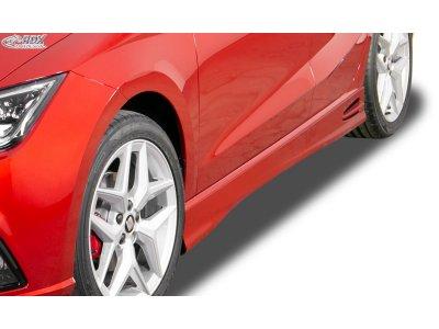 Накладки на пороги GT4 от RDX Racedesign на Seat Ibiza V