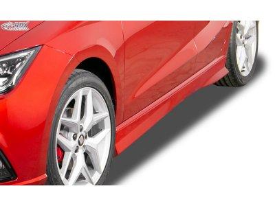 Накладки на пороги Turbo от RDX Racedesign на Seat Ibiza V