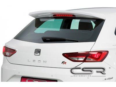 Спойлер на крышку багажника от CSR Automotive для Seat Leon III SC / 3D